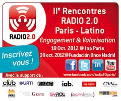 II Rencontres Radio 2.0 Paris-Latino 2012 @ Ina Paris (18...