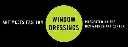 Art Meets Fashion: WINDOW DRESSINGS
