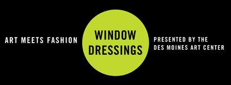 Art Meets Fashion: WINDOW DRESSINGS