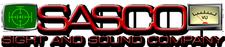 SASCO Sight And Sound Company logo