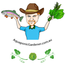 Sustainable Aquaponic Gardening logo