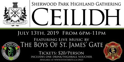 Sherwood Park Highland Gathering Ceilidh