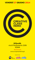 Creative Class Heroes ROMA 2a Edizione