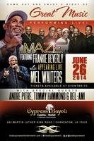 Maze featuring Frankie Beverly, Mel Waiters with Andre...