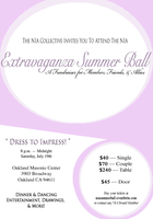 NIA Extravaganza Summer Ball