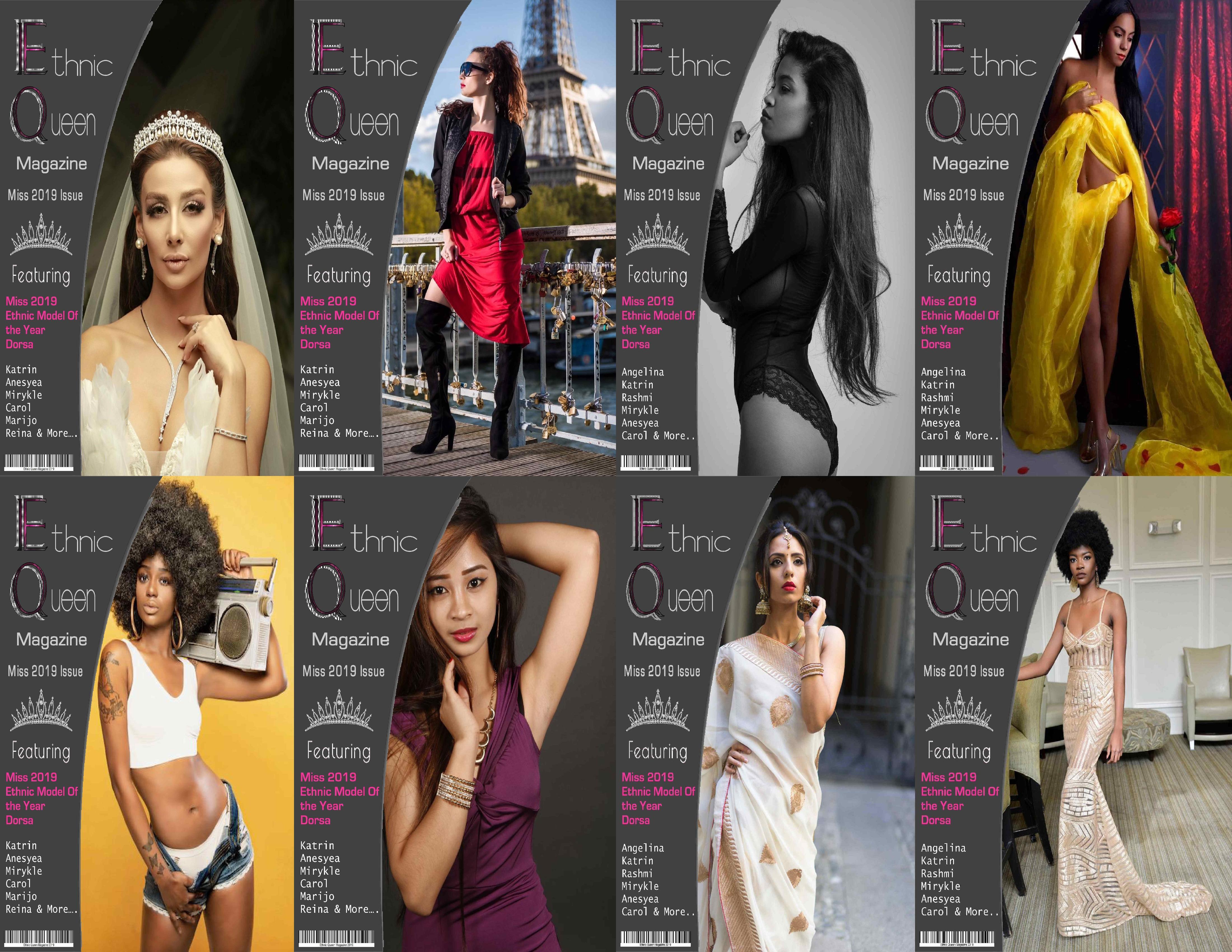 Ethnic Queen Magazine Free 2020 Magazine Modeling Contest