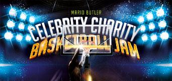 Mario Butler Celebrity Charity Basketball Jam