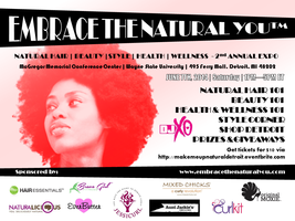 Embrace the You - 2nd Annual Detroit Expo - Natural...