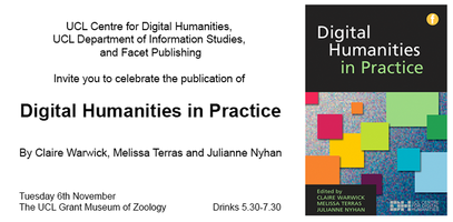 Digital Humanities in Practice - Book Launch