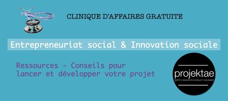 Clinique d'affaires en entrepreneuriat social et...