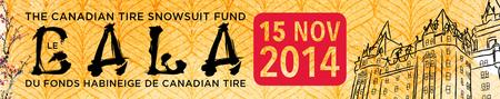 The Canadian Tire Snowsuit Fund Gala 2014