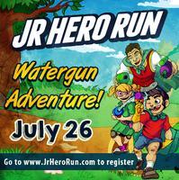Junior Hero Run - Watergun Adventure