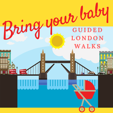 'BRING YOUR BABY' GUIDED LONDON WALKS logo