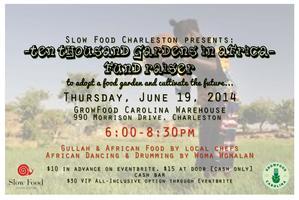Slow Food Charleston Fund Raiser