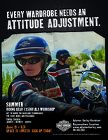 Summer Riding Gear Workshop