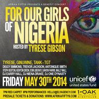 Afrika Fifty6 Presents A Benefit Concert For Our Girls...