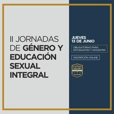 """II  JORNADAS DE GÉNERO Y EDUCACIÓN SEXUAL INTEGRAL- ESCUELA SUPERIOR DE COMERCIO """"CARLOS PELLEGRINI"""", UBA  logo"""