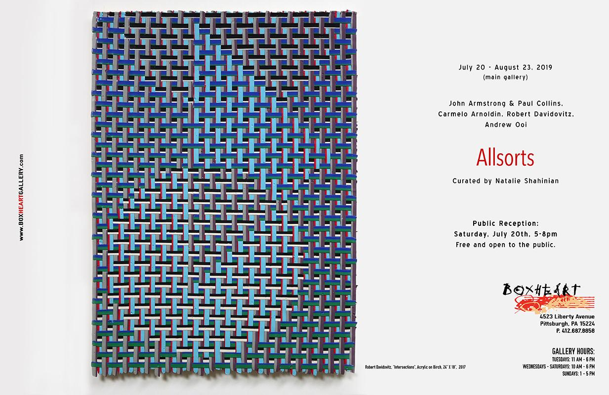 Allsorts: curated by Natalie Shahinian