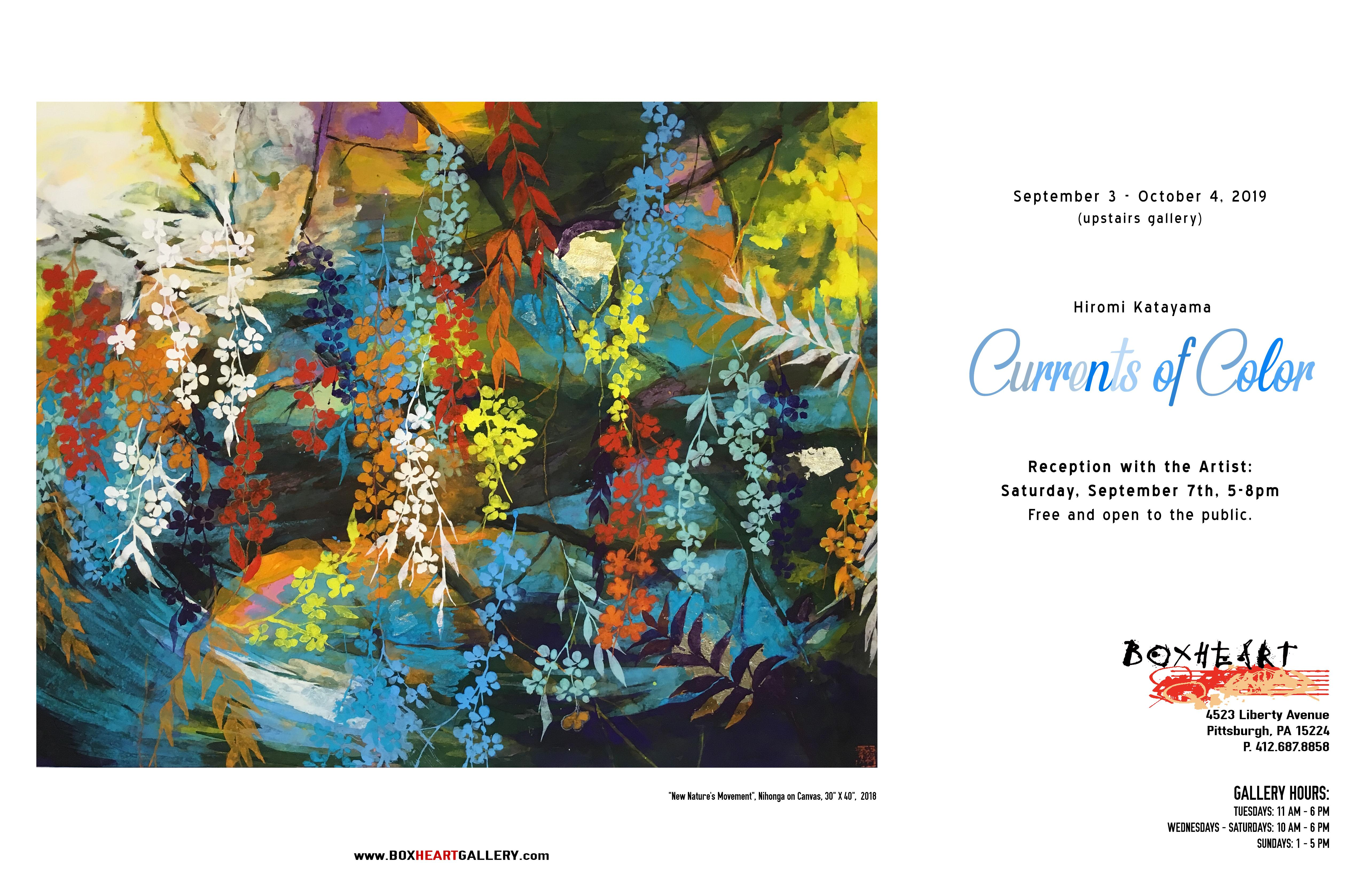 Hiromi Katayama: Currents of Color