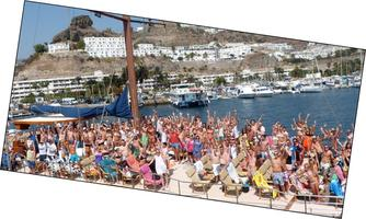 Gay Pride Boat Party Gran Canaria Tuesday the 27th...