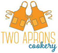 Two Aprons Cookery - Katie Walter logo