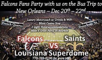 Falcons - Saints Trip 2014 in New Orleans w/ Premier...