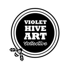 Violet Hive Art Collective logo