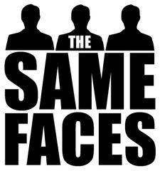 The Same Faces logo