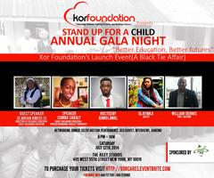 """STAND UP FOR A CHILD"" ANNUAL GALA NIGHT"