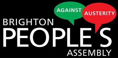 No more austerity march, Brighton train