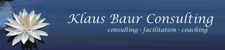 KBC - Klaus Baur Consulting and Training logo