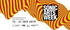Sonic Arts Week logo