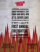 El Coyote Cafe's Hot & Spicy Firefighter Salsa Contest