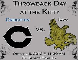 CU vs. Iowa - Throwback Day at Kitty