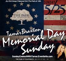 TAMAR BRAXTON | Memorial Day Sunday Cookout | SUN MAY...