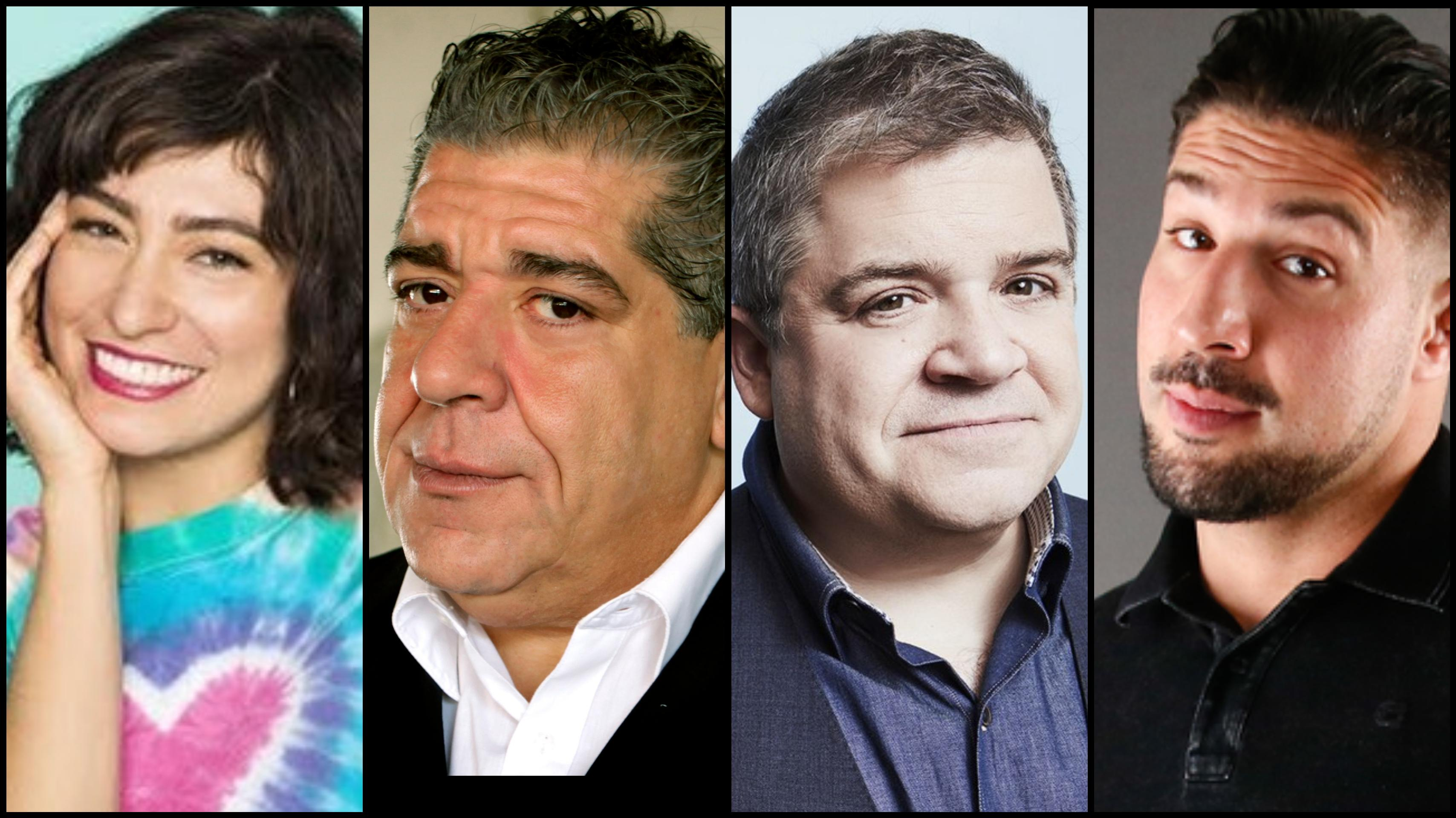 Mello Comedic Joey Diaz, Patton Oswalt, Melissa Villasenor, Brendan Schaub