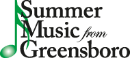 Summer Music from Greensboro logo