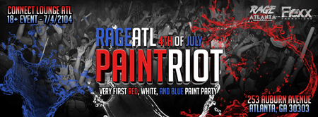 PAINT RIOT ATLANTA - PAINT PARTY JULY 4TH