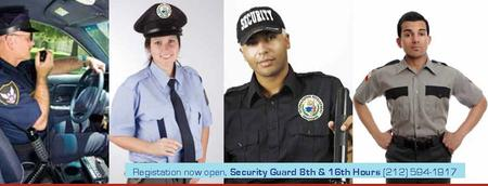 Curso/Course Security Guard 8/16 Hours & In-Service