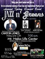 "Mt Nebo Youth Ministry Presents ""Jazz N Greens""..."