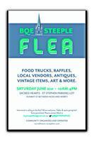 BQE Steeple Flea Market Sacred-Hearts & St. Stephen's...