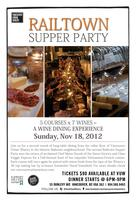 Railtown Supper Party Fall Edition