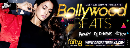 Bollywood Beats @ Stage48 NYC - A Weekly Saturday...