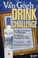 The Van Gogh Drink Challenge - Tuesday - October 9th...