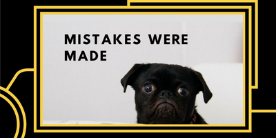 Mistakes Were Made: Storytelling about failure