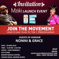 mZiiki App Launch