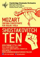 CGO Mozart and Shostakovitch