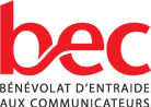 Bénévolat d'entraide aux communicateurs logo