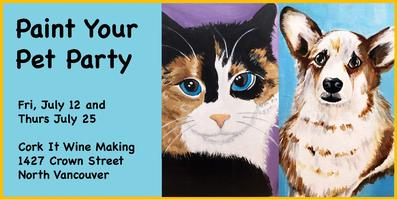 133be013c01fd4 Paint Your Pet @ Cork It Wine Making Tickets, Multiple Dates | Eventbrite