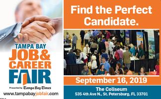 Tampa Bay Job & Career Fair Tickets, Mon, Sep 16, 2019 at 10